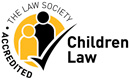 The Law Society Children Law Accredited logo