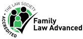The Law Society Family Law Advanced Accredited logo