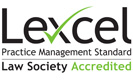 The Law Society Lexcel Practice Management Standard Accredited